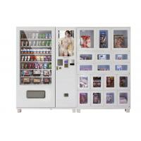Wholesale Drop Sensor Sexy Product Vending Machine With 12in Advert Screen With Locker from china suppliers