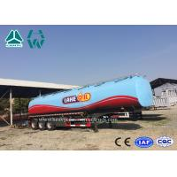 Buy cheap 3 Axles Fuel Tanker Semitrailer For Fuel Transport 30,000 liters to 60,000 liters from wholesalers