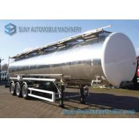 Wholesale 38000 L Chemical Oil Tank Trailer , Butyl Acetate Semi Trailer truck from china suppliers