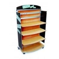 Wholesale Wooded and MDF Display Stands with acrylic shelves for display garments and branded shoes from china suppliers