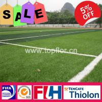 Quality Diamond Shape 50mm Artificial Grass for Soccer Football Court for sale