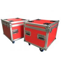 Wholesale Red Rack Flight Shockmount Rack Case Waterproof Standard For Audio Equipment from china suppliers
