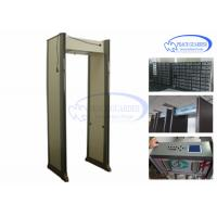 Wholesale 45 Pinpoint Zoneswalk Through Scanner , Metal Detector Frame For Prison Security from china suppliers