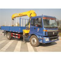 Wholesale China Sino Truck FOTON  4x2 Truck Mounted Crane 8 Tons Cargo Mounted Straight Arm XCMG Crane from china suppliers