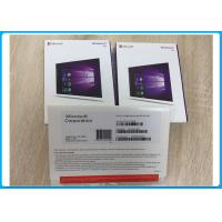 Quality Windows 10 Pro / Professional OEM Pack 32 Bit / 64 Bit DVD + Original Key Code FQC-08929 for sale