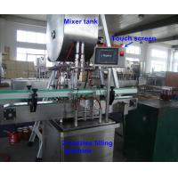 Wholesale Full Automatic Glass Bottle Filling Machine For Fruit Sauce , High Viscosity from china suppliers
