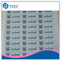 Wholesale PP / PET QR Code Stickers , QR Code Labels For Drug / Cosmetic / Stationery from china suppliers