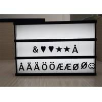 Wholesale A3 A4 A5 Size Cinematic LED Light Box With Natural Wood Frame Customized from china suppliers