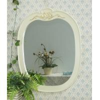 Wholesale Decorative white wooden cosmetic wall Mirror from china suppliers