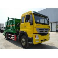 Wholesale Homan Swept Body Refuse Collection Swing Arm Garbage Truck , Skip Loader Garbage Truck from china suppliers