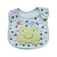 Wholesale Custom Soft Cotton Frog Baby Dribble Bibs Feeding Bibs For Toddlers from china suppliers
