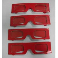 Wholesale Stylish Chromadepth 3D Glasses Polarized 0.2mm PVC / PET Laser Lenses from china suppliers