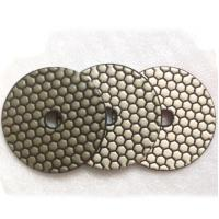 Wholesale 3 Step Hexagon Diamond Dry Polishing Pads from china suppliers