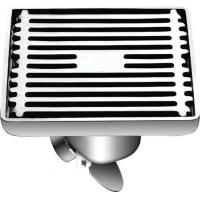 Wholesale 2017 Hot sell Bathroom Accessories Stainless Steel Self-Closed Floor Drain Square Drainer from china suppliers