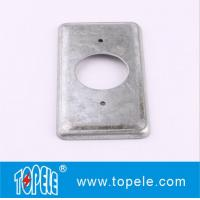 """Wholesale TOPELE 20C3 Rectagular Electrical steel cover  4""""*2"""",  with 1/2"""" knockout from china suppliers"""
