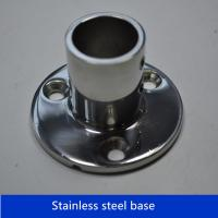 Wholesale Boat Hand Rail Fittings 90 Degree 7/8''Round Stanchion Base- 316 Stainless Steel from china suppliers