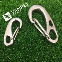 Wholesale Stainless Steel AISI304/316 Egg Shaped Snap Hook from china suppliers