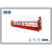 Wholesale Steel Swing Stage Scaffolding With 6m Length Suspended Platform from china suppliers