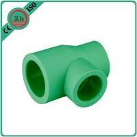 Wholesale Green / White Ppr Reducing Tee Unequal Tee Plumbing Piping 20 - 110 MM Size from china suppliers