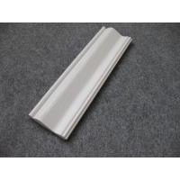 Wholesale Embossed Foam PVC Skirting Board / Chair Rail 15mm Thickness Moisture Proof from china suppliers