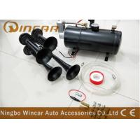 Wholesale 3 Liter Tank 12v Portable Air Compressor 150psi With 4 Trumpet Air Horn from china suppliers