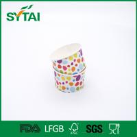 Wholesale 3-32oz Disposable Ice Cream Cups With Lids , Custom Printed Ice Cream Cups ISCO9001 from china suppliers