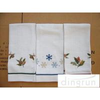 Wholesale Lightweight Kitchen Tea Towels Good Water Absorbent Machine Washable from china suppliers