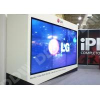 Wholesale DDW lcd video wall 4.9mm 5.3mm ultra narrow bezel HDMI DVI VGA AV 1920x1080P from china suppliers