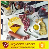 Wholesale marble serving tray, rectangle marble platter from china suppliers