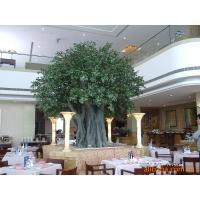 hall/hotel indoor landscaping artificial banyan tree