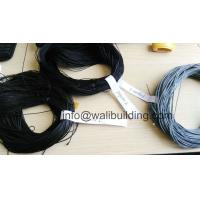 Wholesale Gray and Black Polyester Cord for Plisse Insect Window and Doors from china suppliers