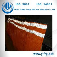 Wholesale Pultrusion FRP Fiber Reinforced Polymer Fiberglass Marker , Driveway reflective Marker from china suppliers