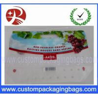 Wholesale CMYK Custom Printed Food Safe Fruit And Vegetable Packaging With Ziplcok from china suppliers