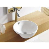 Wholesale single faucet hole wall hung mounting ceramic ware wash basin corner basin from china suppliers