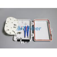 Wholesale 4 Core Fiber Optic Distribution Box For Outdoor FTTH Drop Cable Optical Termination Box from china suppliers