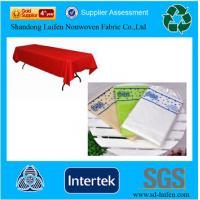 Wholesale 50gsm disposable TNT table cover from china suppliers