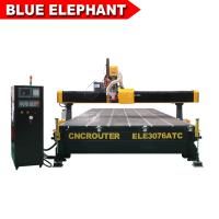 Buy cheap Decoration Furniture Cnc Router  ELE3076 Auto Tool Chang Wood Cnc Router from wholesalers