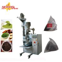 Wholesale Automatic Ultrasonic Sealing Biodegradable Pyramid Tea Bag Packing Machine from china suppliers