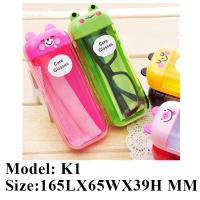 Wholesale 2017 newest children plastic sunglasses case from china suppliers