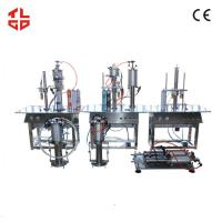 Wholesale Aerosol Can PU Foam Filling Machine , Pneumatic Aerosol Spray Filling Equipment from china suppliers