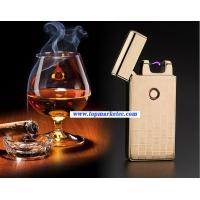 Buy cheap car usb rechargeable arc USB electric lighter cigarette lighter usb cigarette lighter from wholesalers