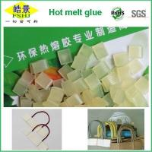 Wholesale High Strength EVA Hot Melt Adhesive / Hot Melt Glue Pellets Light Yellow Granule from china suppliers