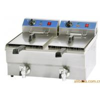 Wholesale Hotels / Restaurants Commercial Electric Deep Fryer 6.5KW 220V - 240V from china suppliers