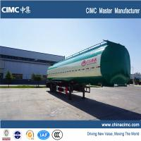 Wholesale 3 compartments tri axle 40cbm fuel tanker semi trailer from china suppliers