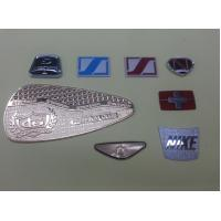 Wholesale Zinc Alloy / Brass Customized Name Plates , 0.2~1.0mm Thickness from china suppliers