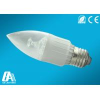 Wholesale Warm White SMD2835 LED Candle Bulbs 3W E27 No UV / IR Radiation from china suppliers