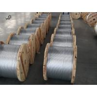 Wholesale ASTM A 475 1*7 Zinc Coated Steel Wire Strand 1 4 Inch For High - Rise Buildings from china suppliers
