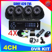 Wholesale 4CHANNEL APPLE1 H.264 real-time ip camera dvr kit CEE-DVR-7004 C035 from china suppliers