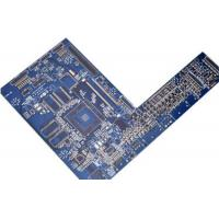 Wholesale BGA Multilayer PCB Fabrication CNC Print Circuit Board Blue Ink Halogen Free Material from china suppliers