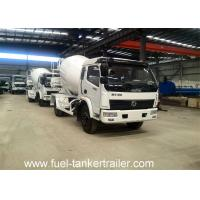 Wholesale 13 Degree inclination cement concrete mixer trailer with 450L pneumatic water supply from china suppliers